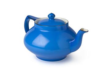 Teapot, Blue