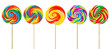 Leinwandbild Motiv Lollipops