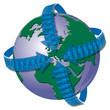 Welt, Clobus, Bevölkerung, Menschen, Handel