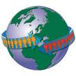 Welt, Clobus, Bevölkerung, Menschen, Handel, Transort