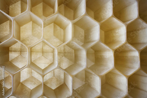 honeycomb as the perfect backdrop