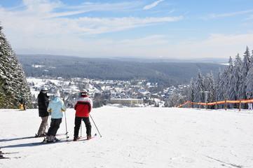 Ski Alpin im Thüringer Wald