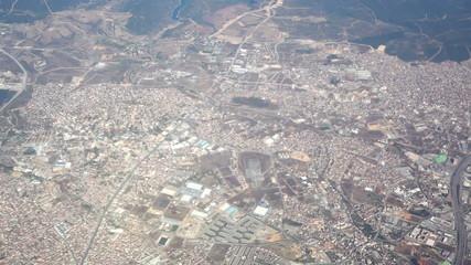 aerial urban view
