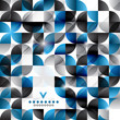 Modern geometric abstract background template