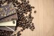 Schokoladentafeln & Kaffeebohnen