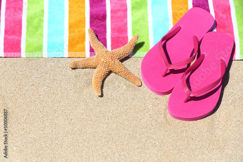 Tropical beach vacation holiday travel concept