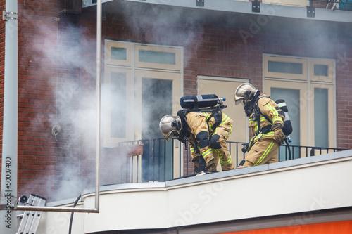 Two firemen