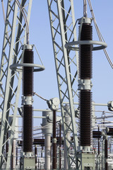 umspannwerk transformer station substation elektrizitaet strom