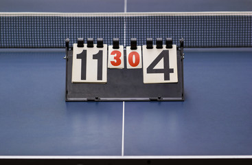 Score Counter for Table Tennis