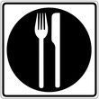 Schild weiß - Restaurant 2