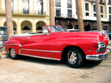 Old red car in Havana n.2