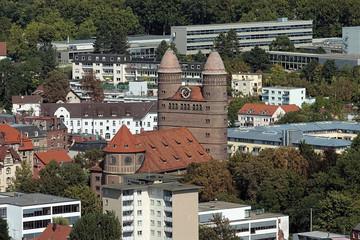 Pauluskirche in Ulm, Germany