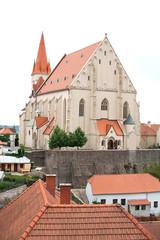 Church of St  Nicholas and Wenceslas in Znojmo, Czech Republic