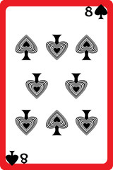 eight of spades