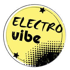 electro vibe stamp