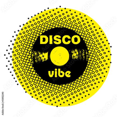 disco vibe stamp