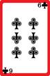 six of clubs