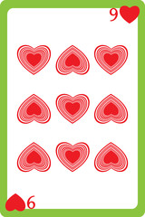 nine of hearts