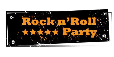 rock n' roll stamp