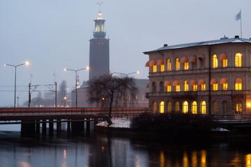 Afternoon Stockholm. Radhuset