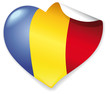 Vector Heart Romania