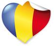 Vector Heart Romania