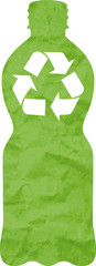 PET recycled logo