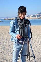 Activité artistique - Photographe à la plage 03