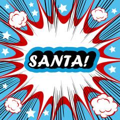 Santa! xmas background Santa Claus