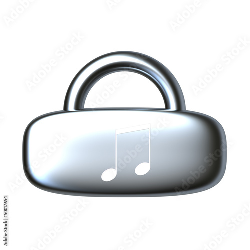 Lock icon for adv or others purpose use