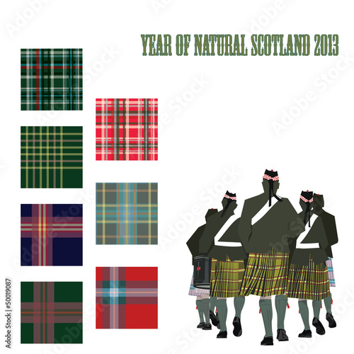 Collection of Tartan Patterns