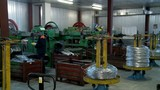 Machine tools in the production department of nails