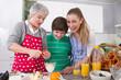 Guter Start in den Tag - Frühstück mit der Familie