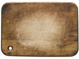 used wooden cutting board