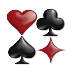 semi delle carte da gioco