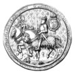 England History - Royal Seal - Sceau - Siegel - 16th century