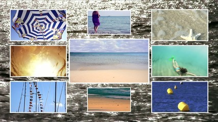 seaside vacations, composition