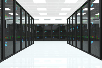 CPU Server Unit Room
