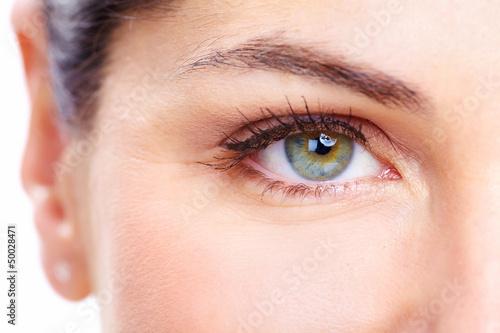 Fototapeta Woman eye.