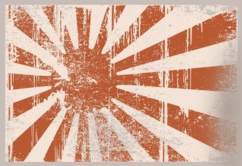 Flagge Japan - Kaiser