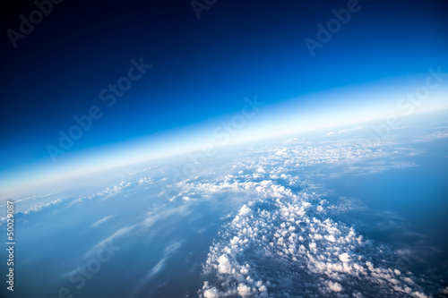Deurstickers Luchtfoto Planet Earth