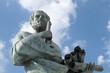 Leinwanddruck Bild - Statue of Aristotle