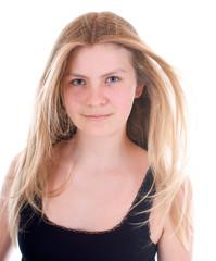 Hübsches, blondes Mädchen
