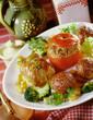 tomate farcie paupiette boullette