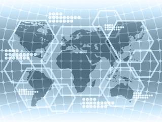Computer simulation data map