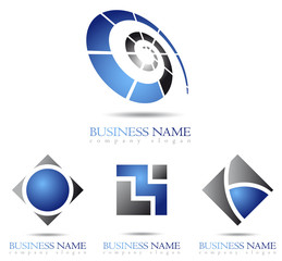 Business logo cube design