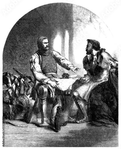 Warriors - Knights - 14th century
