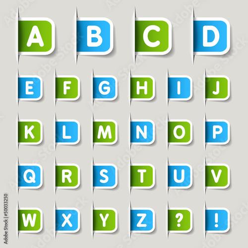 Label - Alphabet