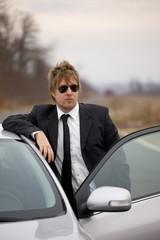 Driver waiting