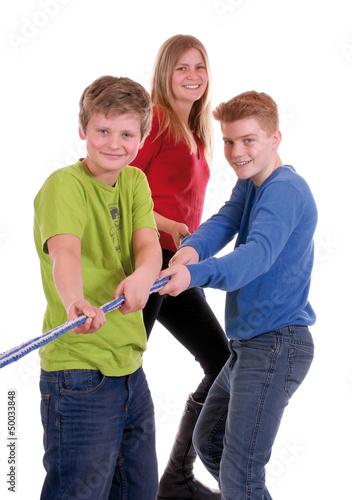 Teenager – Teamwork